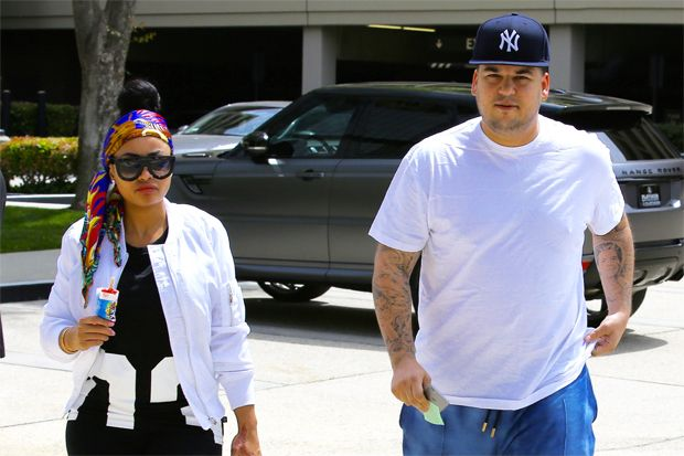 Rob Kardashian and Blac Chyna Weighing In Amid Engagement News Leads Today's Star Sightings