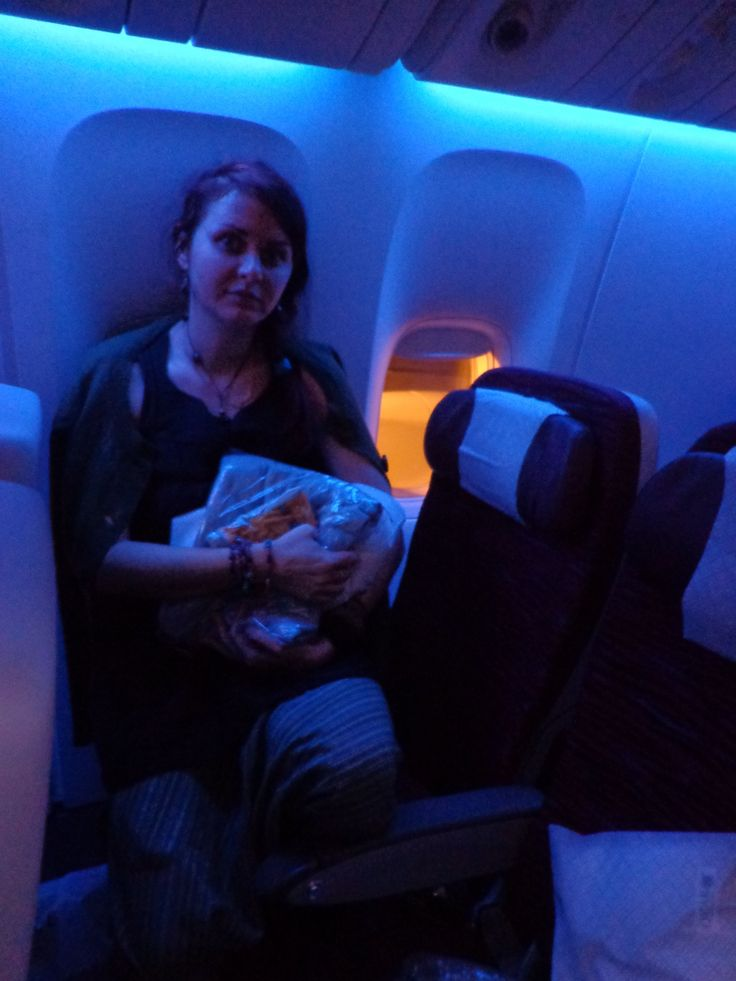 Yes, I'm tired already :) Doha-Bangkok by Qatar Airlines! Sweet.