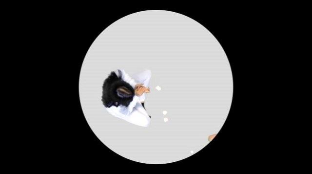 """Uh513: """"La mirada perdida del observador incómodo"""" by 9THE13 Galería de Arte. Vídeo / simulación de la instalación creada por Uh513 (María Castellanos y Alberto Valverde) para su exposición """"La mirada perdida del observador incómodo"""" (Galería 9THE13, entre el 21 de diciembre de 2012 y el 5 enero de 2013)"""