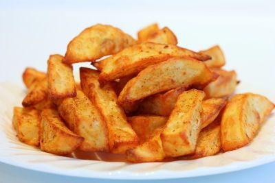 Tasty chips for your tea without all the oil.  Love this Tefal ActiFry Plus. http://www.pricerunner.co.uk/pli/81-2915998/Deep-Fat-Fryers/Tefal-ActiFry-Plus-Compare-Prices