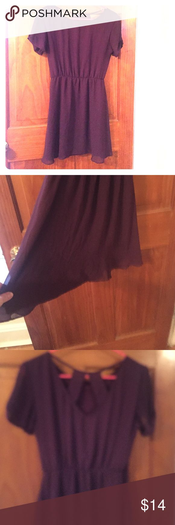 MOVING SALE Purple Chiffon Dress Great condition! Short length. Originally purchased from Nordstroms! Nordstrom Dresses Mini
