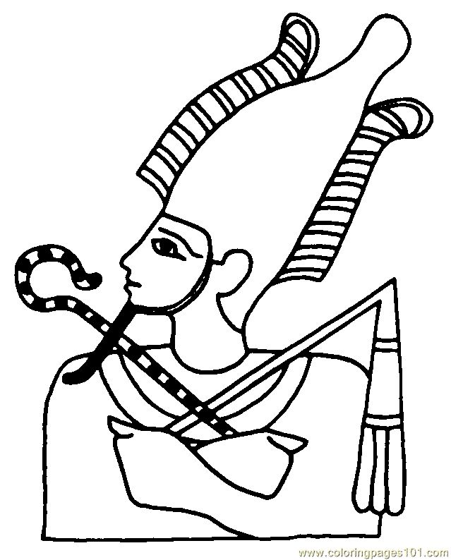 Egypte 56 Coloring Page