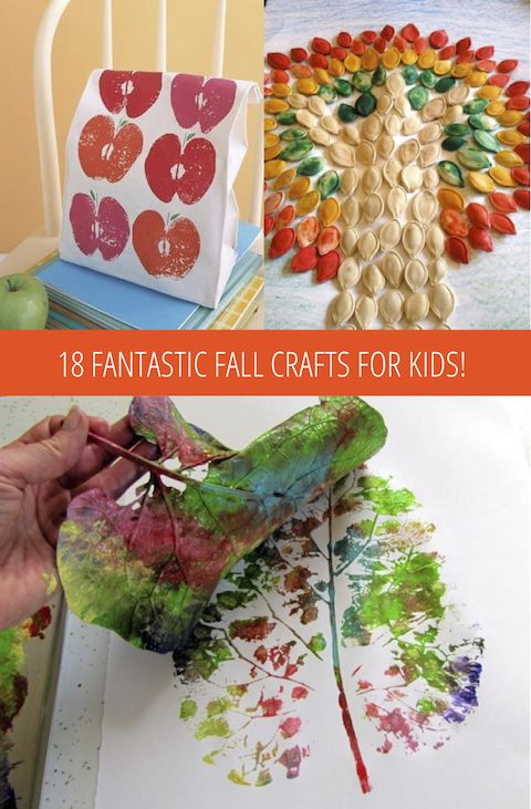 fall craft ideas for adults | 18 Fantastic Fall Crafts for Kids!