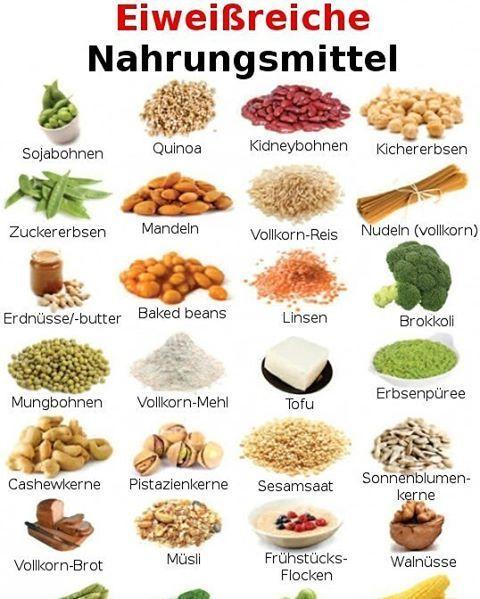 -Proteinreiche Nahrungsmittel- Eine kleine und gesunde Auswahl an Lebensmitteln …