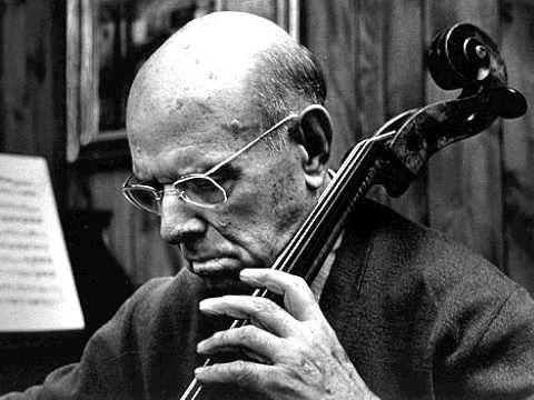 Bach Cello Suite 3 Praeludium by Pablo Casals
