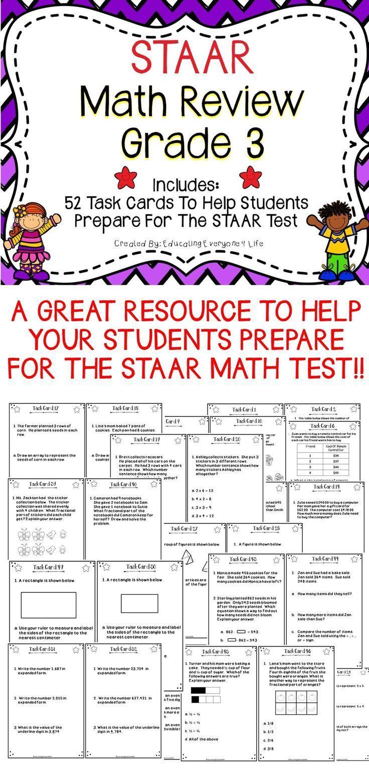 Math Staar 3rd Grade Chart