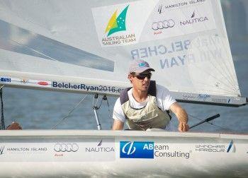 Miami Regatta - Mat Belcher  #Aus11 @Audi Cook Australia @Nautica Wager #Ronstan @Brittany Horton Weatherby #AbeamConsulting #HamiltonIsland #WyndhamHarbour #2XU