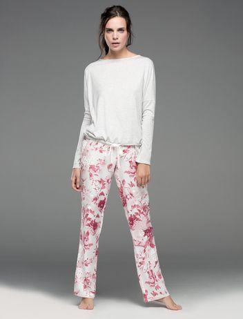 women'secret | Productos | Pijama largo con estampado floral