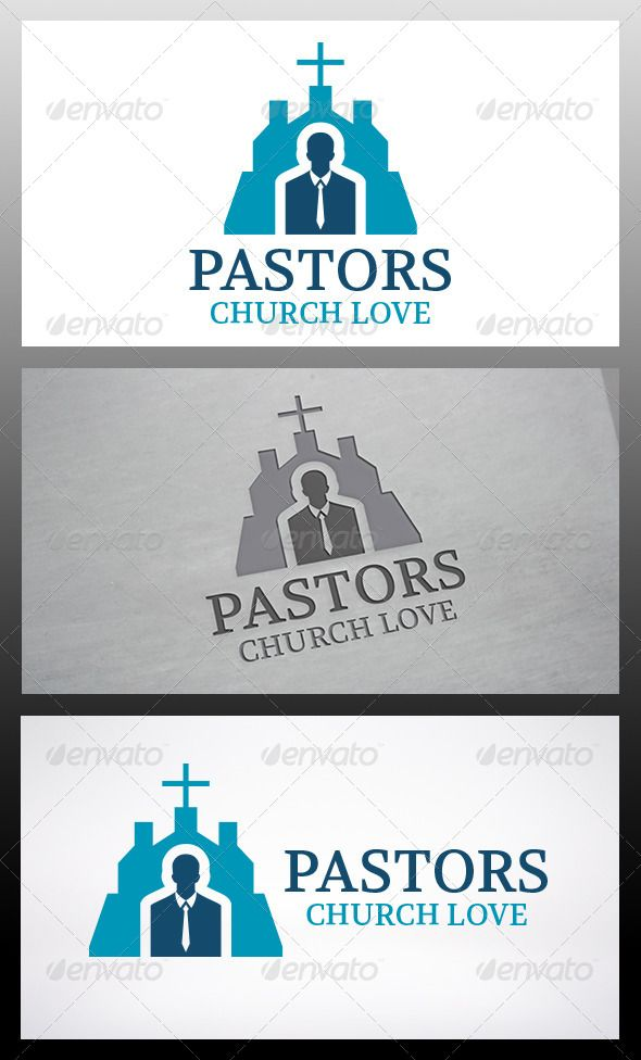 Pastor Church	 Logo Design Template Vector #logotype Download it here: http://graphicriver.net/item/pastor-church-logo-template/6120365?s_rank=1205?ref=nexion