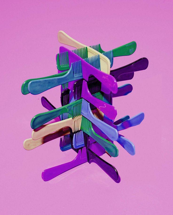 #comb #colors #installation #display