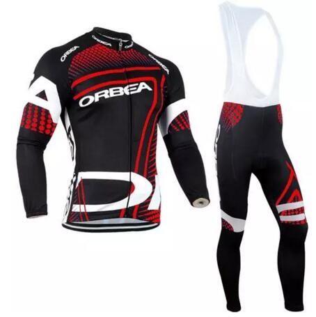 2017 Pro Team ORBEA Cycling Clothing Long sleeves Autumn Spring Mem Cycling  jersey MTB bike Ropa 276792dd9