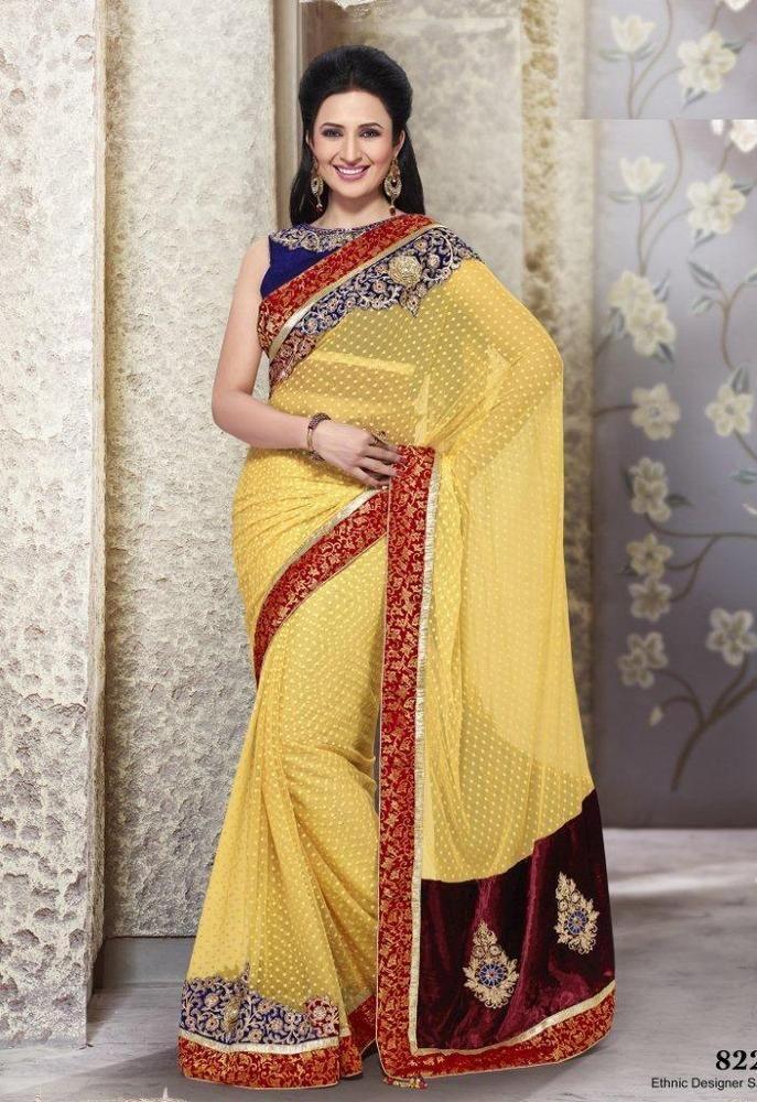 New Party Indian Designer Wedding Dress Ethnic Saree Bollywood Sari Pakistani