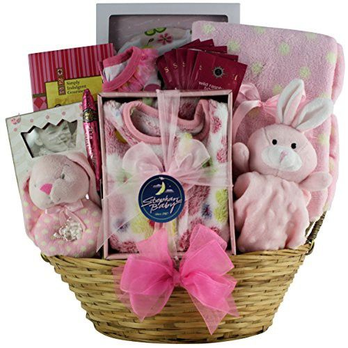 GreatArrivals Gift Baskets Welcome Home Baby, Girl
