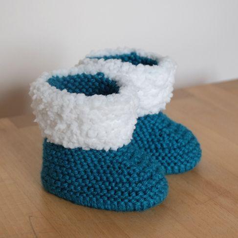 C'est avec une petite fierté que je viens de terminer ces petits chaussons pour bébé. A force de me balader sur Pinterest et d'enregistrer des milliers d'idées à tricoter pour la …