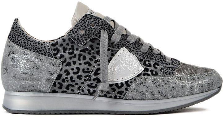 Philippe Model Leopard Print Sneakers