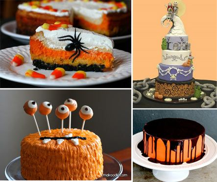pinterest halloween cakes | Halloween Appetizer Recipes For Kids — Kid Friendly Cooking ...