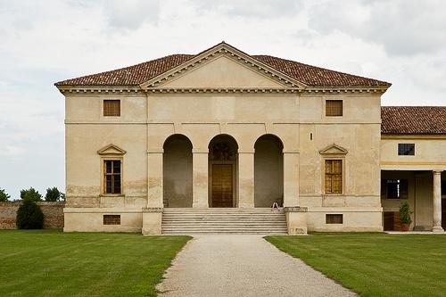 Villa Saraceno - (built ca. 1545/48 for Biagio Saraceno; architect: Andrea #Palladio ) Agugliaro (Veneto, Italy)