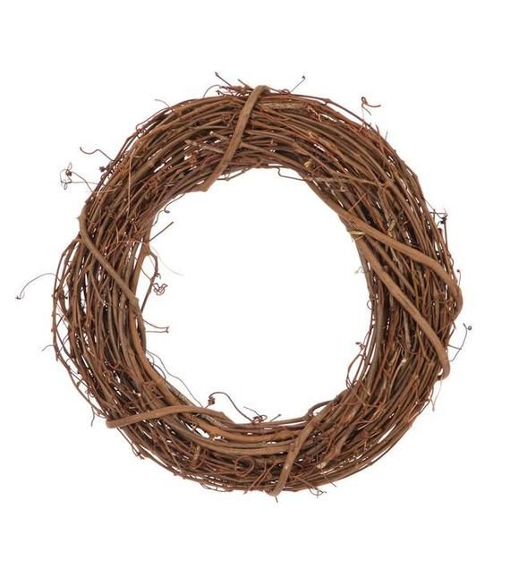 12 Inch Natural Large Grapevine Wreaths 2 Pieces In 2020 Grape Vines Grapevine Wreath Willow Wreath