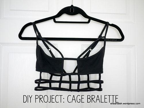 DIY Cage Bralette