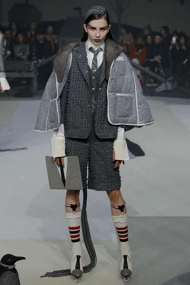 See the complete Thom Browne Fall 2017 Ready-to-Wear collection.