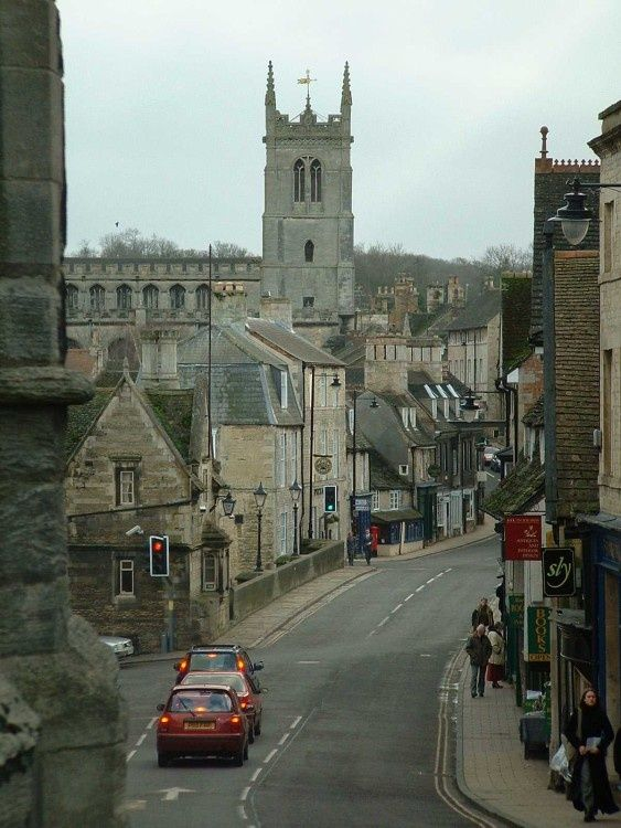"""""""Stamford, Lincolnshire"""" by Christian Bartlett at PicturesofEngland.com"""