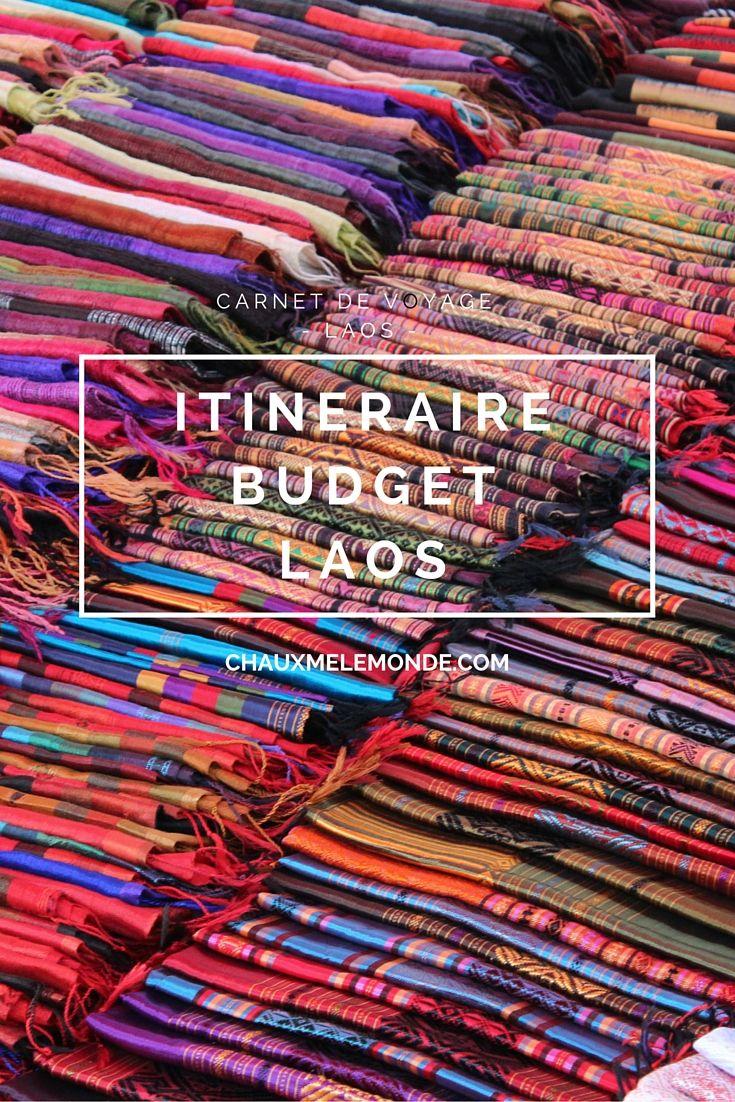 Itinéraire, budget, infos utiles pour voyager au Laos
