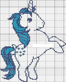 Unicorn cross stitch pattern