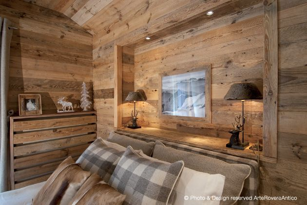Mountain Bedroom by Arte Rovere Antico || Photo by Duilio Beltramone for Sgsm.it ||