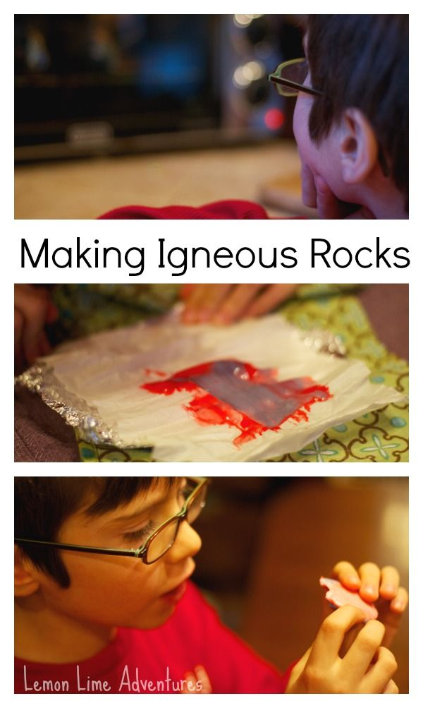 Rock Cycle for Kids: Making Sedimentary, Metamorphic, and Igneous Rocks with Starburst candies
