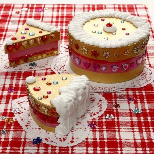 Tårta av pappaskar