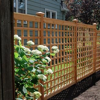 {Expert Advice} for building a {Lattice Trellis} in your garden!