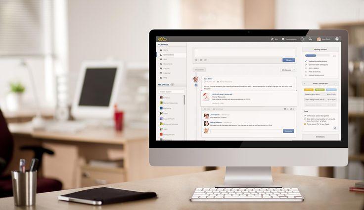 The Open Source Enterprise Social Collaboration Platform | eXo