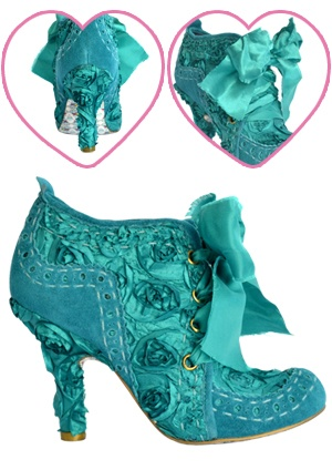 Irregular Choice Abigail's Party Ankle Boots