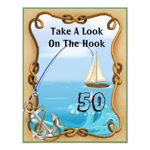 98 best fishing birthday theme images on pinterest for Fishing birthday wishes