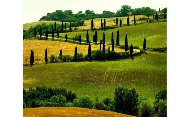 Estradas da Toscana, Itália