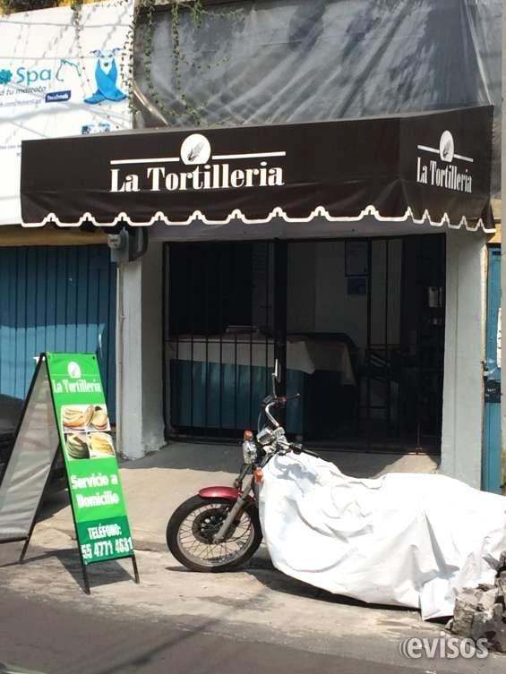 TORTILLERIA EN TRASPASO  LISTA PARA TRABAJAR INMEDIATAMENTE, COMPLETAMENTE ACONDICIONADA, INCLUYE MAQUINA TORTILLADORA ...  http://coyoacan.evisos.com.mx/tortilleria-en-traspaso-id-630407