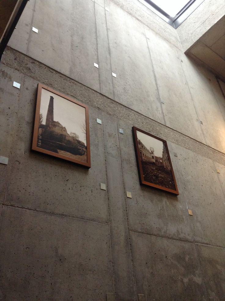 Photo of na Stara Papiernia in the lobby before revitalization.
