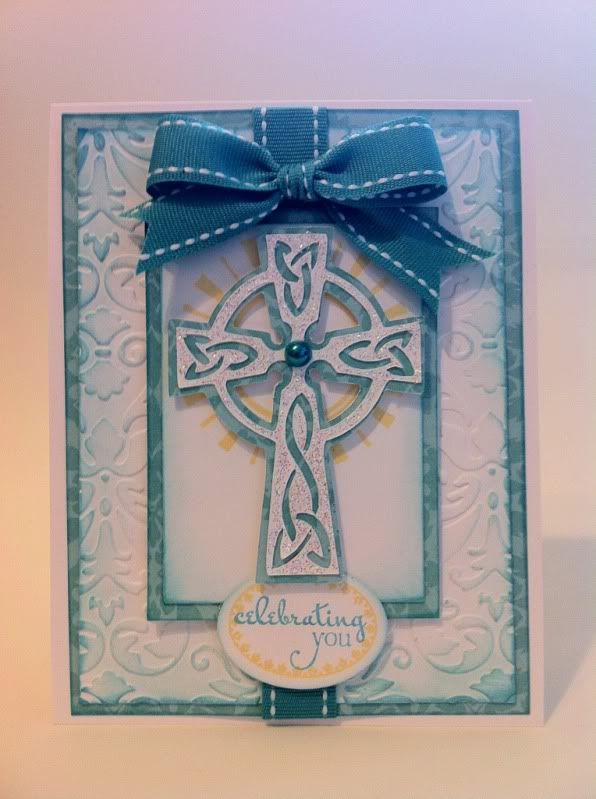 Courtney Lane Designs: Celebrating you card made using the New Testament Cricut Cartridge