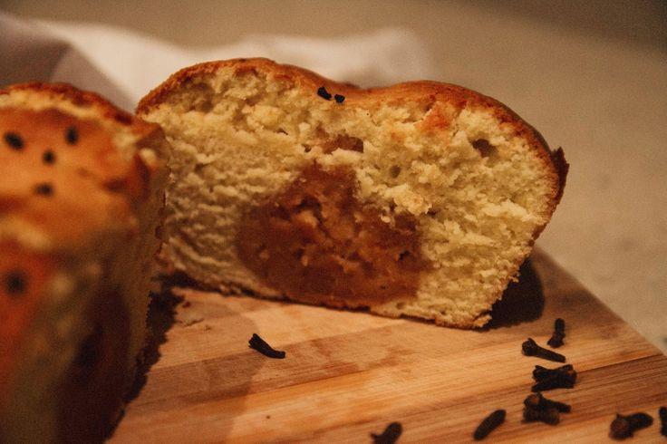 ванильный кекс с тыквенным секретом