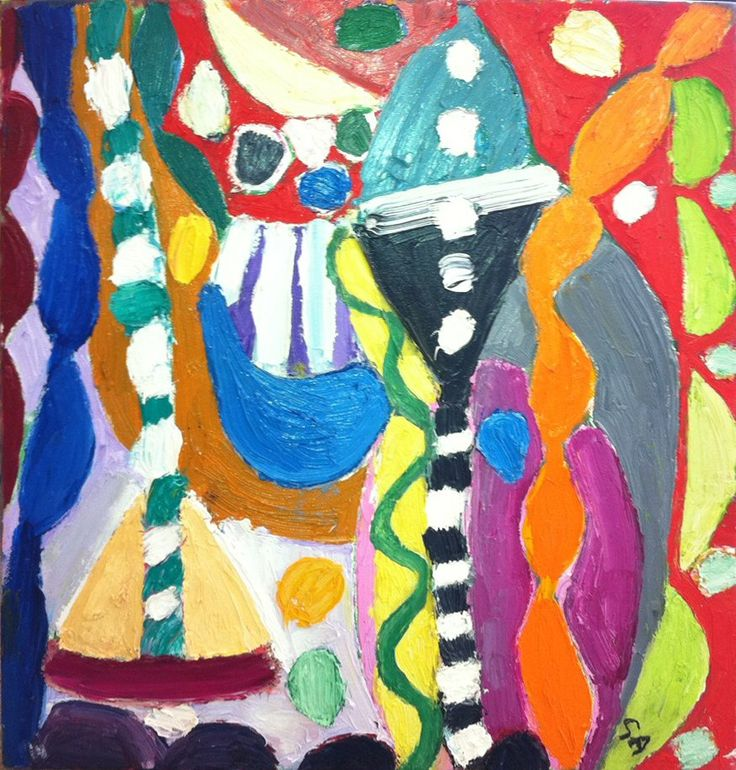 Gillian Ayres : at The Taylor Gallery - Art Gallery in, Northern Ireland