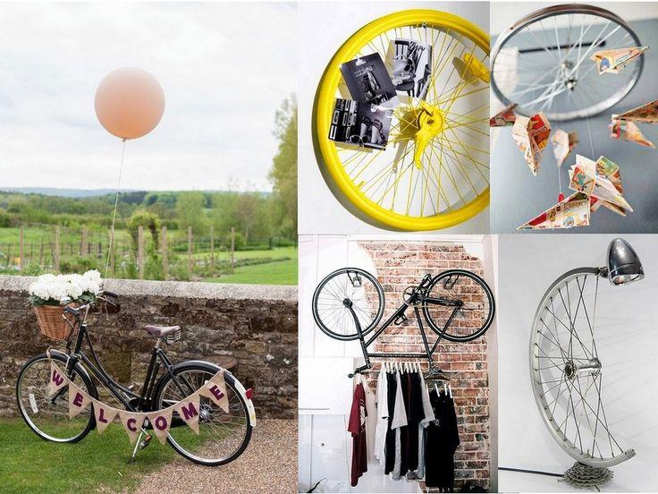 ¿Tienes una bicicleta vieja? Hoy te traemos varias ideas para reciclar bicicletas. Consigue convertirla en parte de la decoración de tu casa con estas ideas