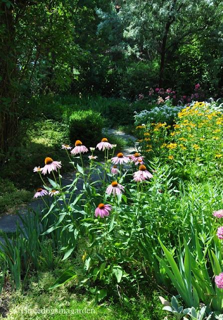 paths: Flowers Gardens, Sunshine Pathways, Secret Gardens, Three Dogs, Grand Entrance, Gardens Paths, Gardens Yard Flowers Porches, Country Gardens, Shades Gardens