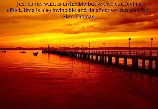 Though invincible we can feel its effect.