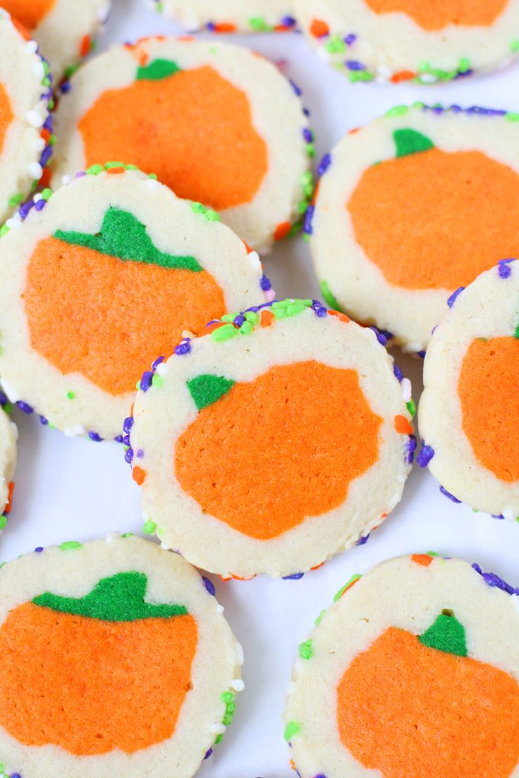 These slice and bake Halloween cookies look amazing! There's so easy though thanks to step by step pictures!