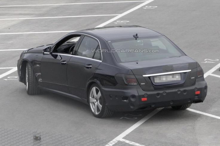 Mercedes-Benz E-Class 2013–года готовится к обновлению среднего цикла
