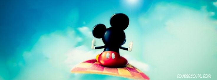 Mickey Mouse On Magic Carpet Cool Facebook Timeline Covers