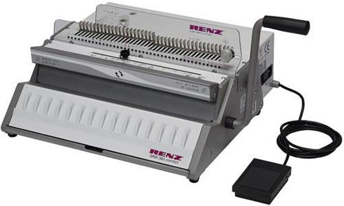 Renz SRW360 Comfort Electric Wire Binding Machine