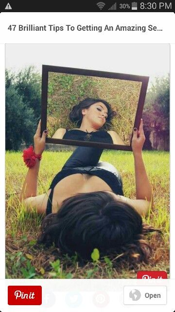 Mirror reflection pic