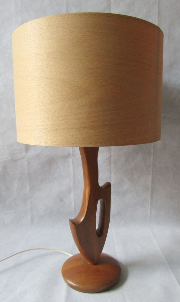89 best retro vintage lighting images on pinterest midcentury modern retro 1970s teak wooden table lamp working rewired pat tested greentooth Choice Image