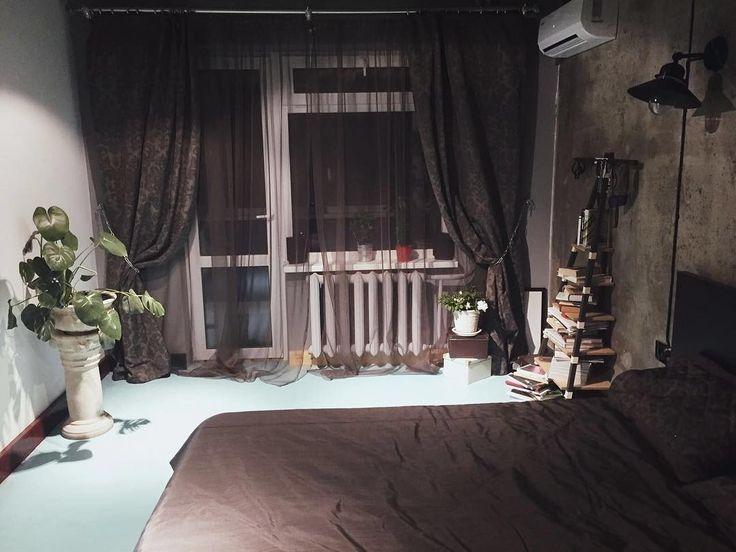 #шторы в спальню молодого человека дизайнер @emmalexee изготовила из тканей коллекции PRADO #galleria_arben - моргинальный #шик #bedroom